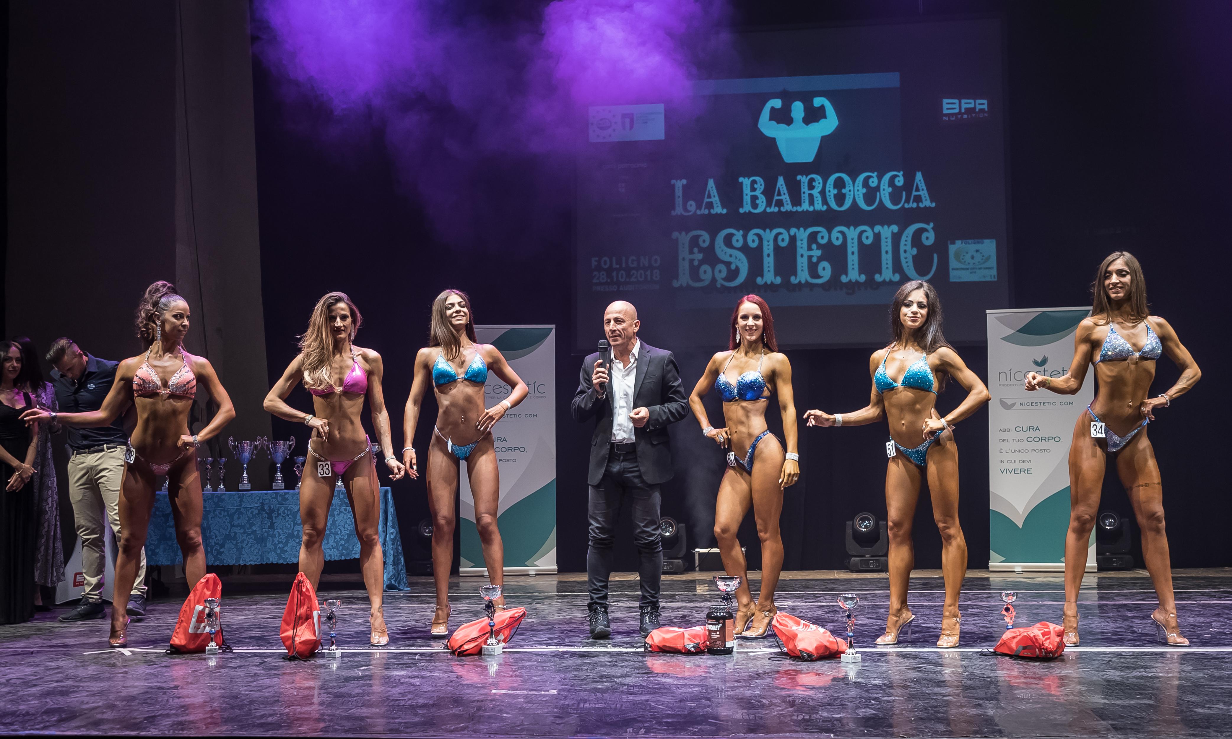 La Barocca Estetic 2018 - finale femminile
