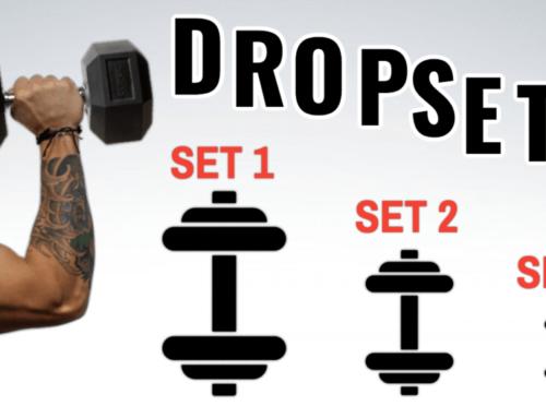 Drop-set e intensità nell'allenamento